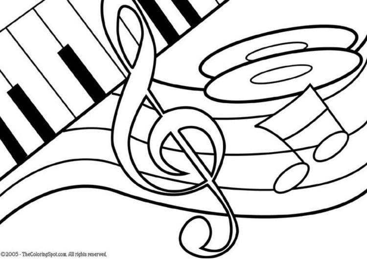 Disegno Da Colorare Tema Musicale Disegni Da Colorare E Stampare Gratis Imm 5952