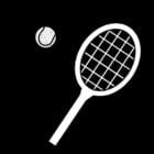 Disegno da colorare tennis