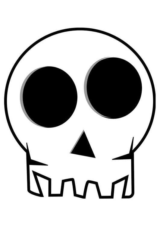 Disegni Da Colorare Di Halloween Teschi.Disegno Da Colorare Teschio Disegni Da Colorare E Stampare Gratis