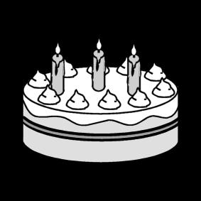 Disegno Da Colorare Torta Di Compleanno Cat 14259 Images