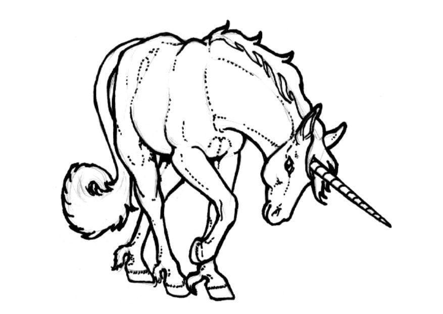 Disegno da colorare unicorno cat 7135 - Libero unicorno pagine da colorare ...