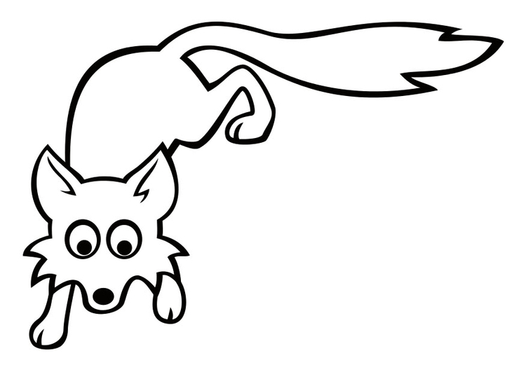Disegno Da Colorare Volpe Cat 29040