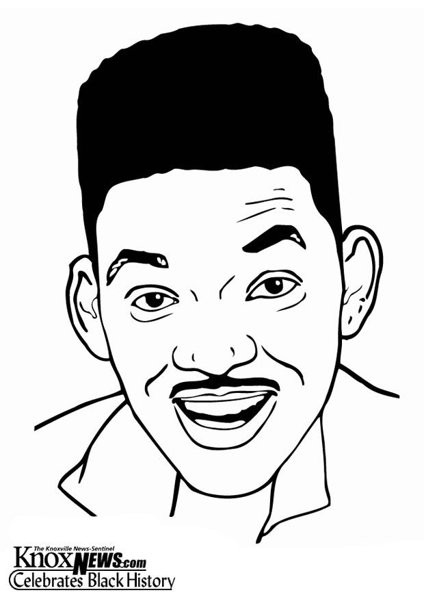 Disegno Da Colorare Will Smith Cat 12862