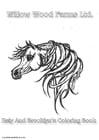 Disegno da colorare Willow Wood Farms cavallo