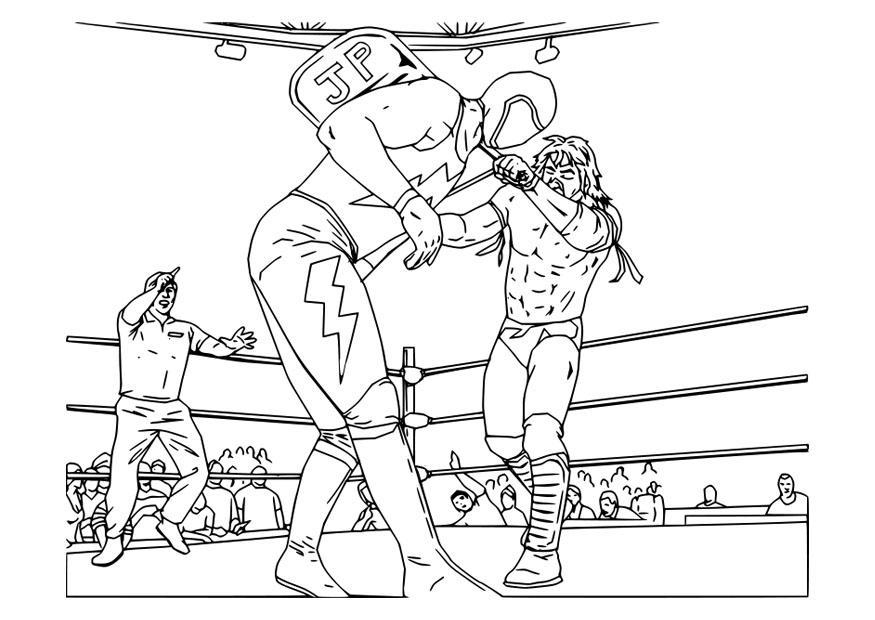 Wrestling Da Colorare.Disegno Da Colorare Wrestling Disegni Da Colorare E Stampare Gratis