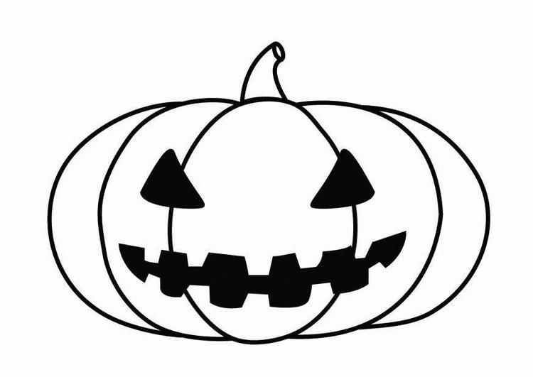 Disegno da colorare zucca di Halloween - Cat. 26871. 027e9ed1eeda