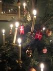 Foto albero di Natale e con candeline