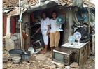 Foto barraccopoli a Giacarta
