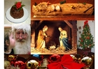 Foto collage natalizio