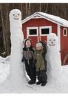 Foto divertirsi nella neve