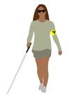 immagine handicap visuale