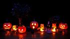 Foto luci di Halloween
