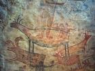 Foto murale in grotta