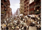 Foto New York - Mulberry Street 1900