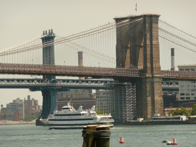 Foto New York  - Ponte di Brooklyn e Ponte di Manhattan
