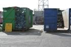 Foto parco riciclaggio rifuiti
