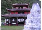 Foto tempio in villaggio