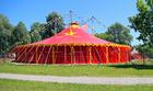 Foto tendone da circo
