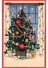 immagine albero di Natale con regali