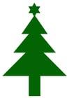 immagine albero di Natale con stella