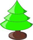 immagine albero di Natale vuoto