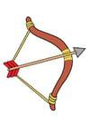 immagine arco e freccia