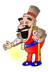 immagine artista di circo