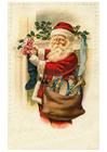 immagine Babbo Natale con gioccattoli