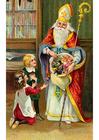 immagine bambini con San Nicola