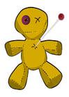 immagine bambola voodoo