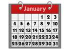 immagine calendario - gennaio