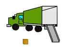 immagine camion vuoto