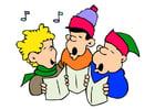 immagine canzoni di Natale