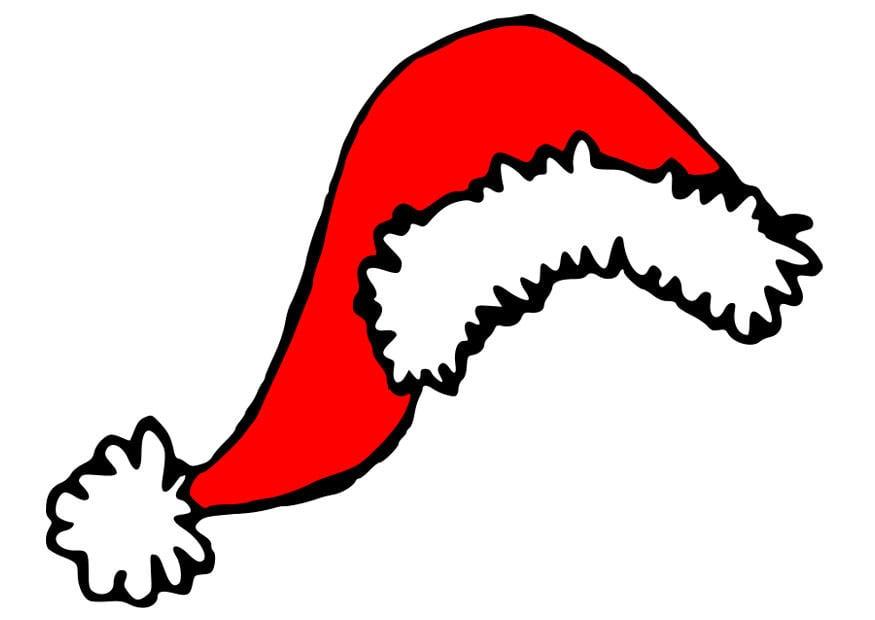 Immagine – illustrazione cappello di Babbo Natale  6edab347d774