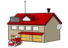 immagine caserma dei pompieri
