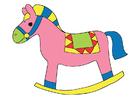 immagine cavallo a dondolo