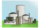 immagine centrale nucleare
