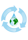 immagine ciclo dell'acqua