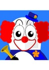 immagine clown