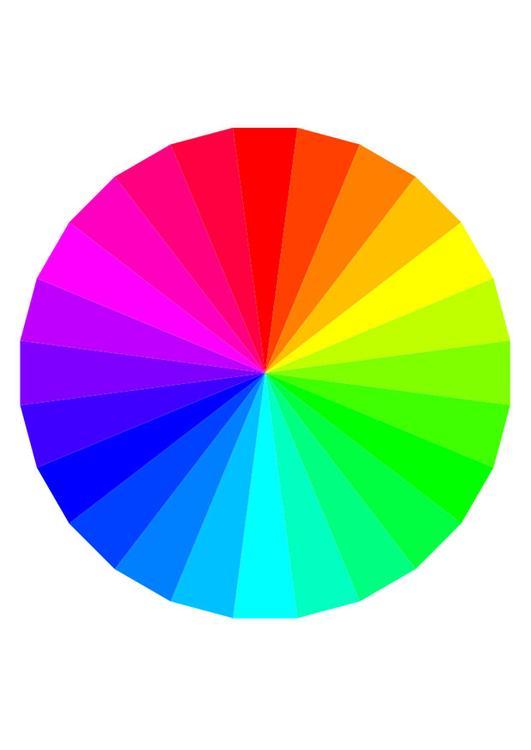 Immagine illustrazione colori dell 39 arcobaleno immagini - Immagine dell albero a colori ...