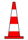 immagine cono del traffico