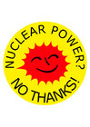immagine energia nucleare, no grazie