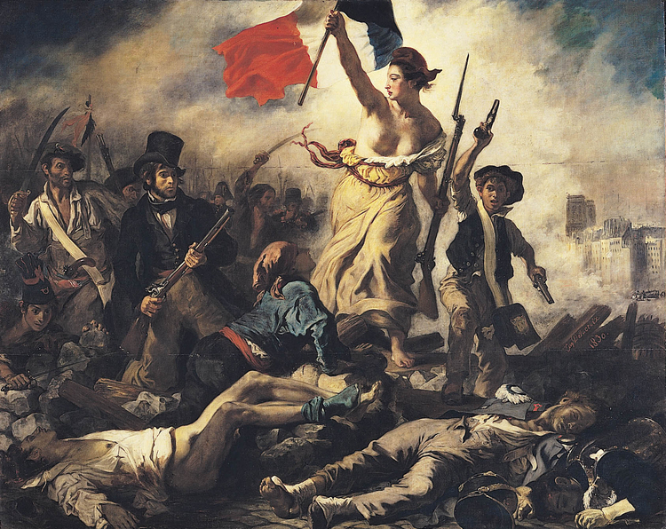 immagine Eugene Delacroix - Liberty Leading the People