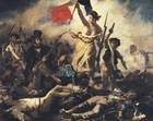 immagine Eugene Delacroix - Liberty Leading the People - Rivoluzione francese