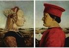 immagine Federico da Montefeltro e la moglie