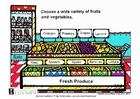 immagine frutta e verdure fresche