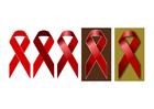 immagine giorno del AIDS - nastrino rosso