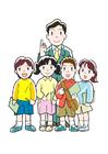 immagine insegnante e studenti