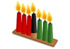 immagine Kwanzaa - candele