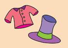 immagine l'angolo dei vestiti eleganti